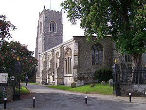 Framlingham - Image: Framlingham Church of St Michael