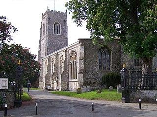 Framlingham town in Suffolk Coastal, Suffolk, England