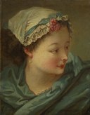 François Boucher - Head of a Young Woman - 2012.95 - Cleveland Museum of Art.tif