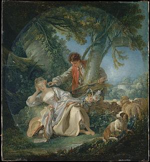 Tickling - François Boucher - Le sommeil interrompu
