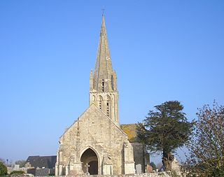 Formigny La Bataille Commune in Normandy, France