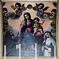 Francesco Curradi, Madonna del Rosario fra i Santi Domenico e Chiara - Pieve di San Vincenzo a Torri.jpg