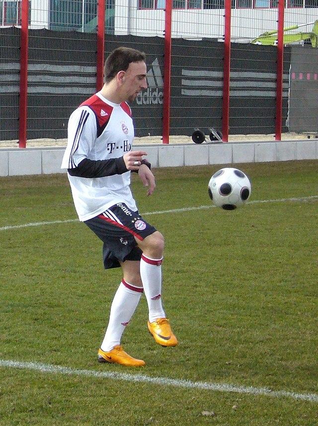 Franck Ribéry, le batman du football, le superman du sport, le spiderman des supporters.