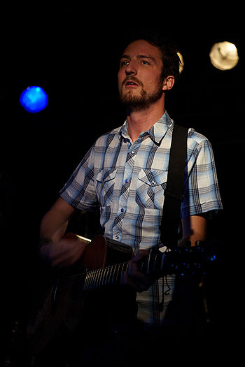 English: Concert Photo of Frank Turner in Berl...