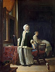 Lady at her Toilet