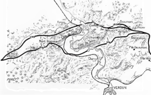 Action of 25 September 1917 - Image: French attack at Verdun, August 1917