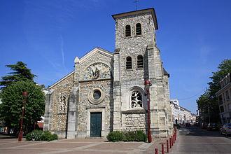 Fresnes, Val-de-Marne - The church of Saint-Éloi, in Fresnes