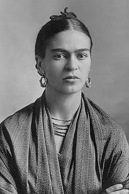 Frida Kahlo Museum Mexico City portrait