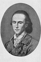 Friedrich Justin Bertuch 1778 (Quelle: Wikimedia)