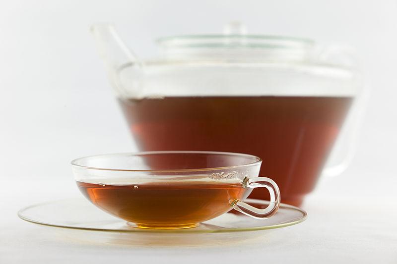 File:Frisch aufgebrühter Schwarzer Tee Darjeeling (Second Flush).jpg