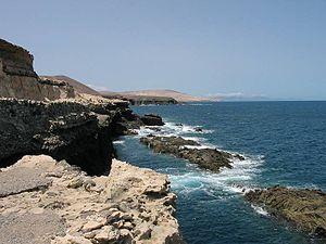 フエルテベントゥラ島: Fuerteventura kueste3 750px