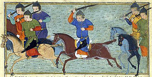 Tekuder - Tekuder leading his Mongol warriors.