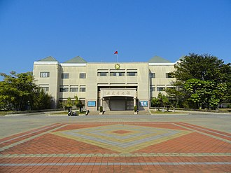 Fujian Province, Republic of China - Fujian Provincial Government building between January 1996 to 2018. Currently the Kinmen-Matsu Joint Service Center, Executive Yuan