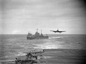 Fulmar 809 NAS landing on HMS Victorious (R38) 1942.jpg