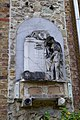 Funeral stone on the northern side of St Mary's Church, Barnes.jpg