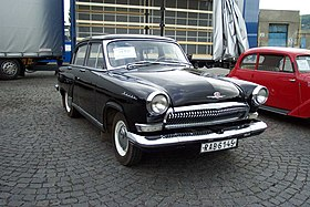 "GAZ-21 (3rd generation) ""Volga"" in Beroun (as DOD probotrans exponát).jpg"