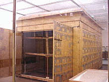 Camera funeraria di Tutankhamon. Museo Egizio del Cairo