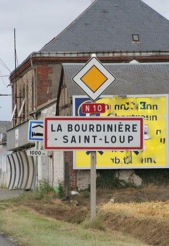 Route nationale 10 - La Bourdinière-Saint-Loup