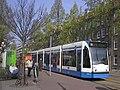GVB Combino (Amsterdam tram) on route 10.jpg