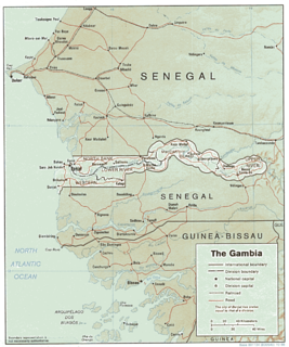 Geography of the Gambia