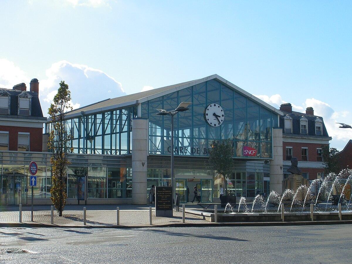 Gare de b thune wikip dia for Garage de la gare bretigny