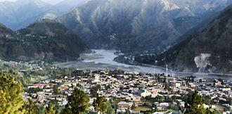 Garhi Habibullah - Garhi Habibullah View from Aznali Hills