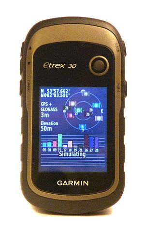 Garmin - A Garmin eTrex 30 simultaneously connects to both GPS and GLONASS satellites.