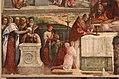 Garofalo, allegoria dell'antico e nuovo testamento con trionfo della chiesa sulla sinagoga, 1523, da s. andrea a ferrara 04.jpg