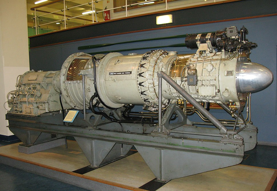 Gas turbine from MGB 2009