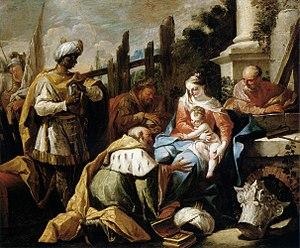 Gaspare Diziani - Image: Gaspare Diziani Adoration of the Magi WGA6355