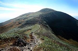 Mount Gassan - Image: Gassan Ridge 2006A