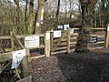 Gate into Abbrook Pond - geograph.org.uk - 1750113.jpg