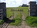 Gate to Holland Farm - geograph.org.uk - 175856.jpg