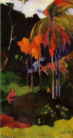Gauguin Mahana maa I
