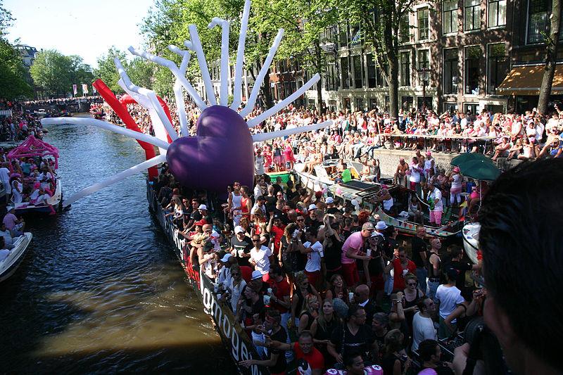 Parada Gay na Holanda