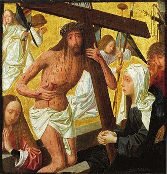 Geertgen tot Sint Jans - Man of Sorrows c. 1485–95