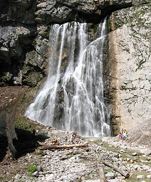 Gagra District - Gega waterfall