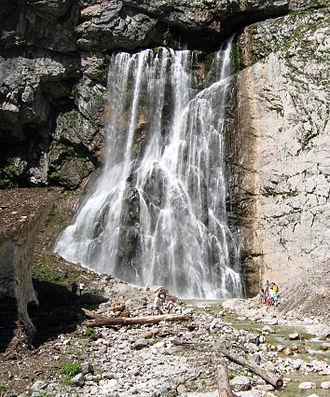 Gagra District - Gega waterfall