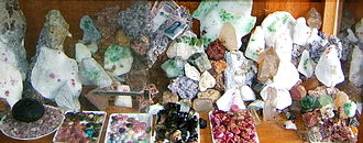 Gemstones Gemstones in Luc Yen, Yen Bai.JPG