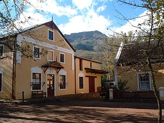 Genadendal - Genadendal Moravian Mission Station, founded in 1737