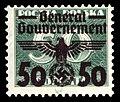 Generalgouvernement 1940 38 Aufdruck auf P98.jpg