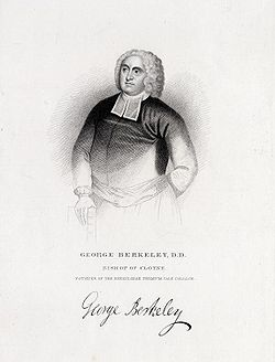 "1=""George Berkeley, Bishop of Cloyne,"" etching. Courtesy of the Yale University Manuscripts & Archives Digital Images Database, Yale University, New Haven, Connecticut."