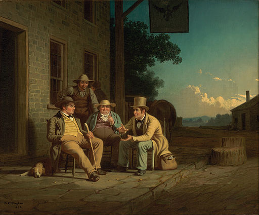 George Caleb Bingham - Canvassing for a Vote - Google Art Project