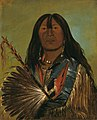 George Catlin - Shón-ka, The Dog, Chief of the Bad Arrow Points Band - 1985.66.85 - Smithsonian American Art Museum.jpg
