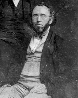 George Ripley (transcendentalist) - George Ripley, sometime between 1849 and 1860: a detail from Mathew Brady's daguerreotype of the New York Tribune editorial staff.