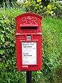 George VI Postbox, Scorriton - geograph.org.uk - 1311675.jpg