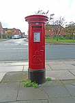 George VI post box on Sefton Street, Liverpool.jpg