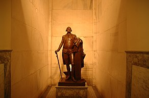 George Washington Statue Inside Washington Monument.JPG