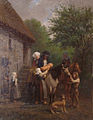 Georges Alexandre Fischer-Le Départ pour le baptême en Bretagne-Musée barrois.jpg