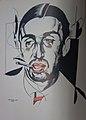Georgij Iwanow. Porträtiert von Juri Pawlowitsch Annenkow 1921.jpg